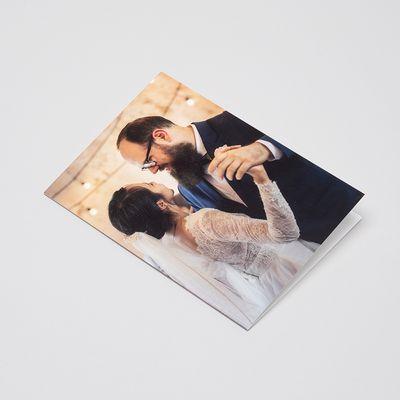 tarjeta de felicitacion aniversario de boda personalizada