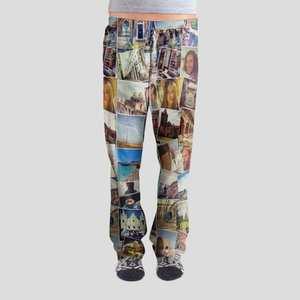 Pyjamasbyxor med eget tryck