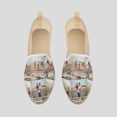 personalised loafer espadrilles