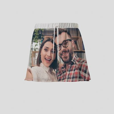falda personalizada con fotos
