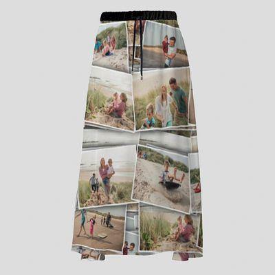 falda personalizada fotos maxi