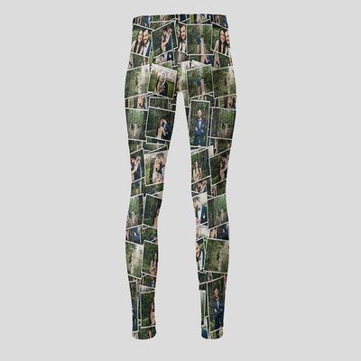 gepersonaliseerde leggings hoge taille