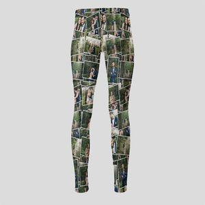 Personalised high waisted leggings