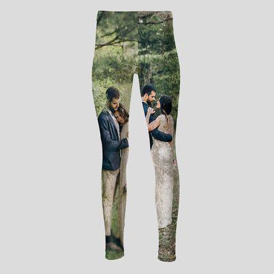 gepersonaliseerde leggings met hoge taille