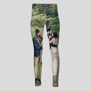 personliga leggings med hög midja
