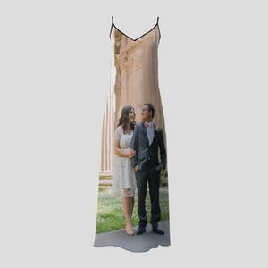 personalised slip dress