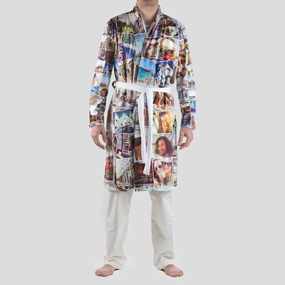 robe de chambre kimono personnalisée