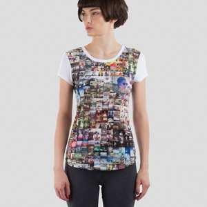 Personlig t-shirt dam kortärmad