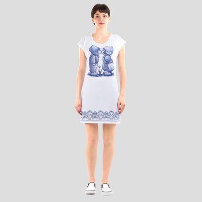 个性化T恤连衣裙