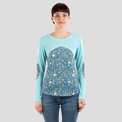ladies personalised long sleeve shirt