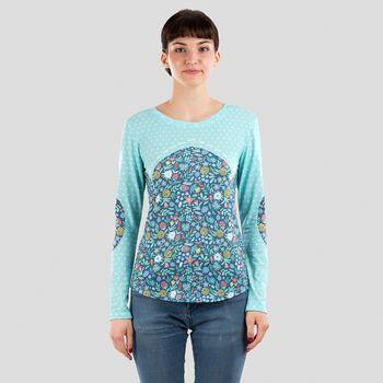 langarm damen shirt bedrucken