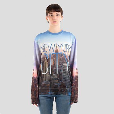 personalised unisex sweatshirt