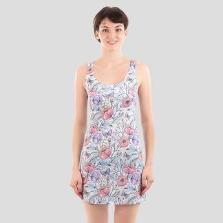 custom print beach dress_320_320