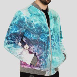 personalised mens bomber jacket