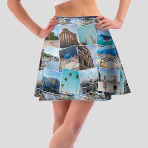 个性化伞状半身裙