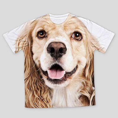 t-shirt för barn med husdjur
