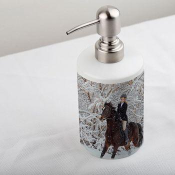 陶器製 ソープボトル 写真プリント