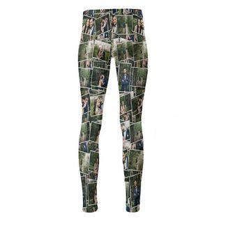 personalised high waisted womens printed leggings