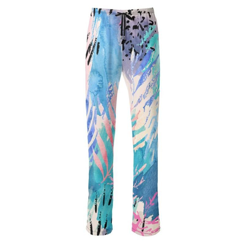 custom made printed pants