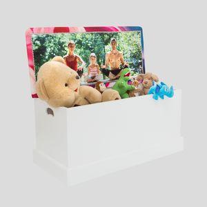 Coffre à jouets personnalisé