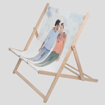 gepersonaliseerde ligstoel trouwdag