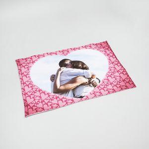 personalized heart blankets online