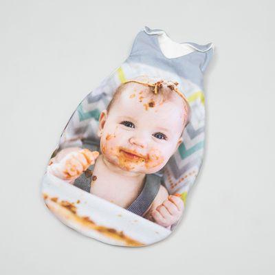 babyschlafsack mit foto zur taufe