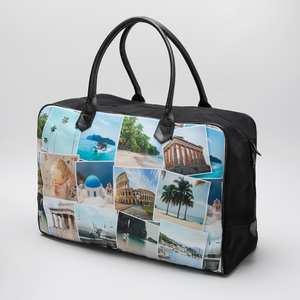 Reisetaschen-Collage