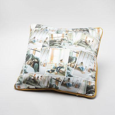 personalised luxury silk cushions