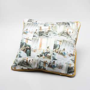 personalised silk cushions