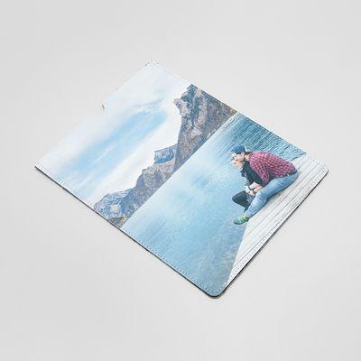 iPadレザーケース 写真