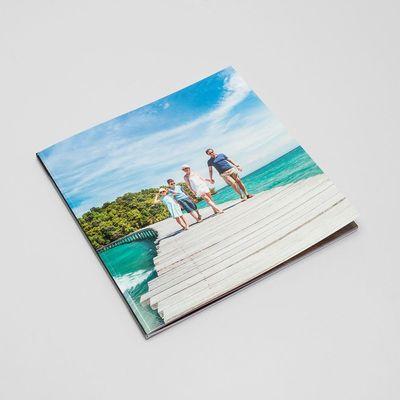Quadratisches Fotobuch