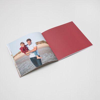livre couverture souple carré