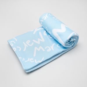 Personalisedbaby name blanket