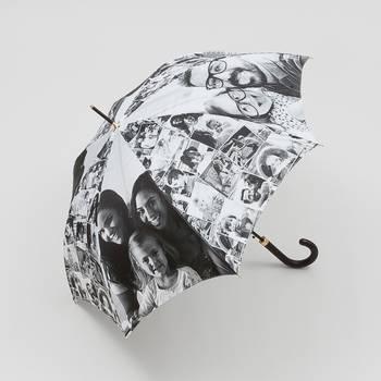 bedrukte paraplu