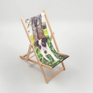 Personalised deckchair