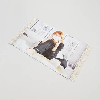 bettvorleger mit foto bedruckt selber machen