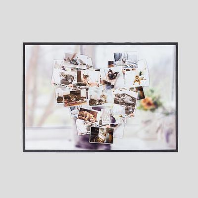 Tappeti Da Bagno Personalizzati con collage di foto
