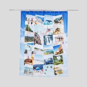 照片印刷浴帘