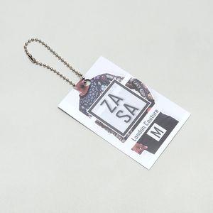 Personalised swing tags