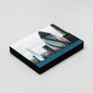 låda fotobok med eget omslag