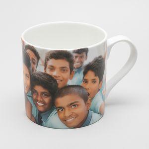Personalized bone china mug