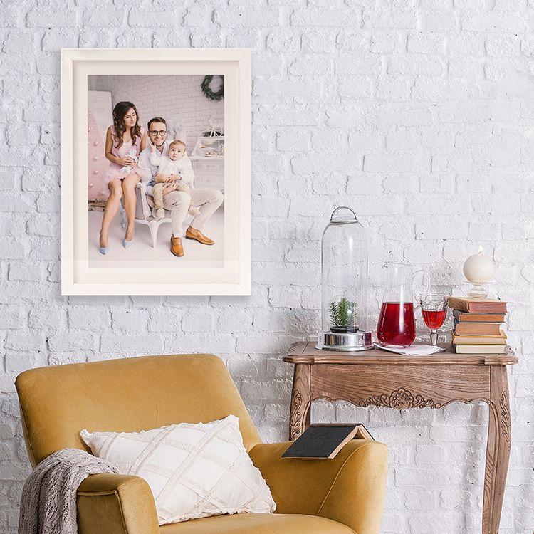 framed printed photos