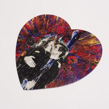 Impression sur puzzle coeur