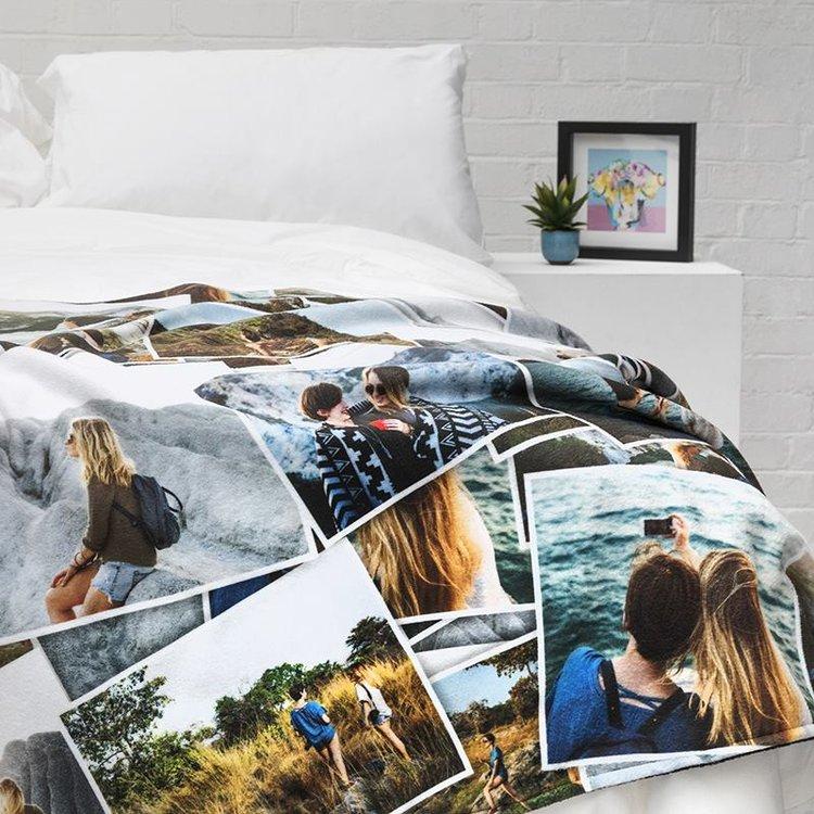 Fotodecke Bedrucken Lassen Personalisierte Decke Mit Fotos 3 Für 2