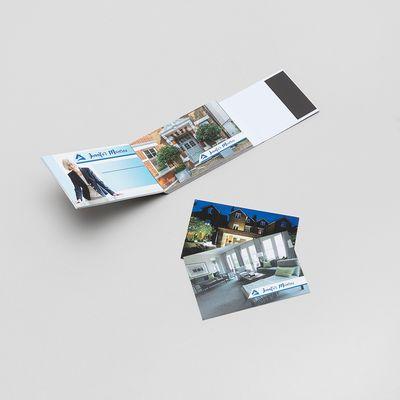 gepersonaliseerd visitekaartje met naam