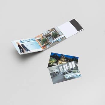 gepersonaliseerde visitekaartjes