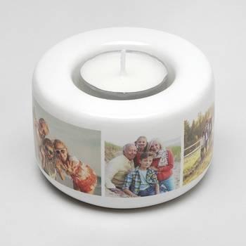 photo tea light holders