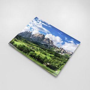 aluminium print