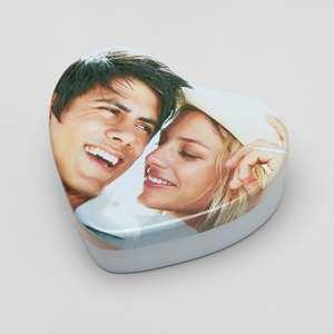 Custom Sweet Heart Gift Tins